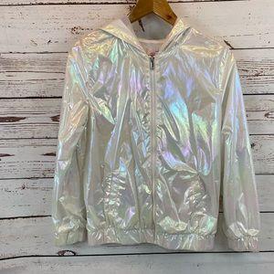 More than Magic iridescent Zip up jacket